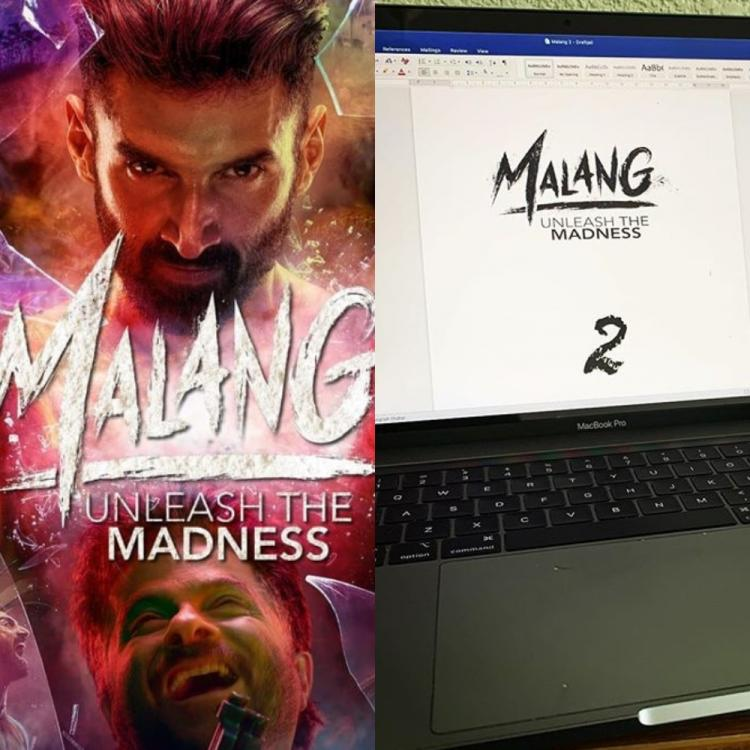 Malang director Mohit Suri shares glimpse of the first draft of the sequel