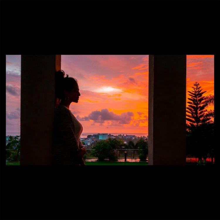 Malavika Mohanan enjoys the perfect evening as she shares her picturesque silhouette; See post