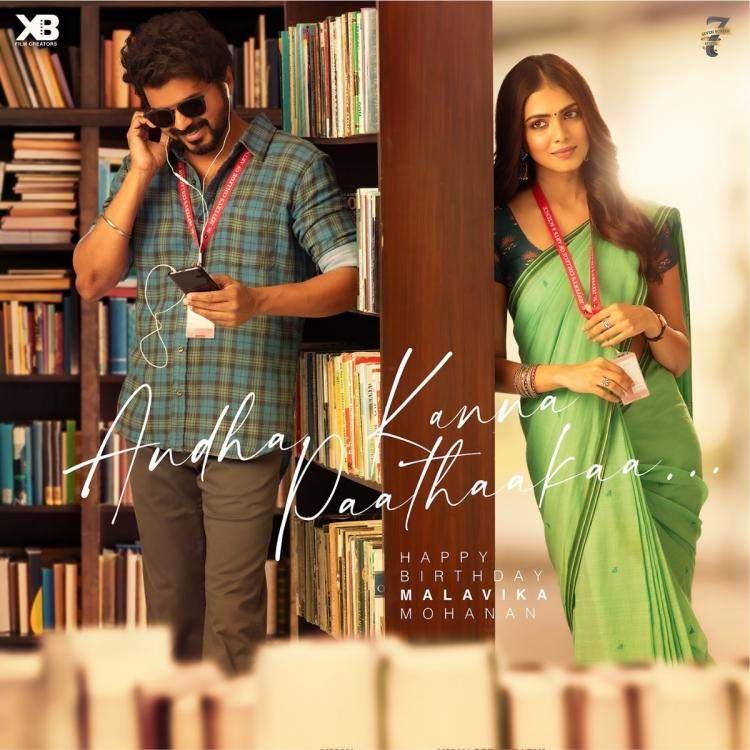 Malavika Mohanan says she's grateful for being able to work with Rajinikanth and Vijay in her first two films