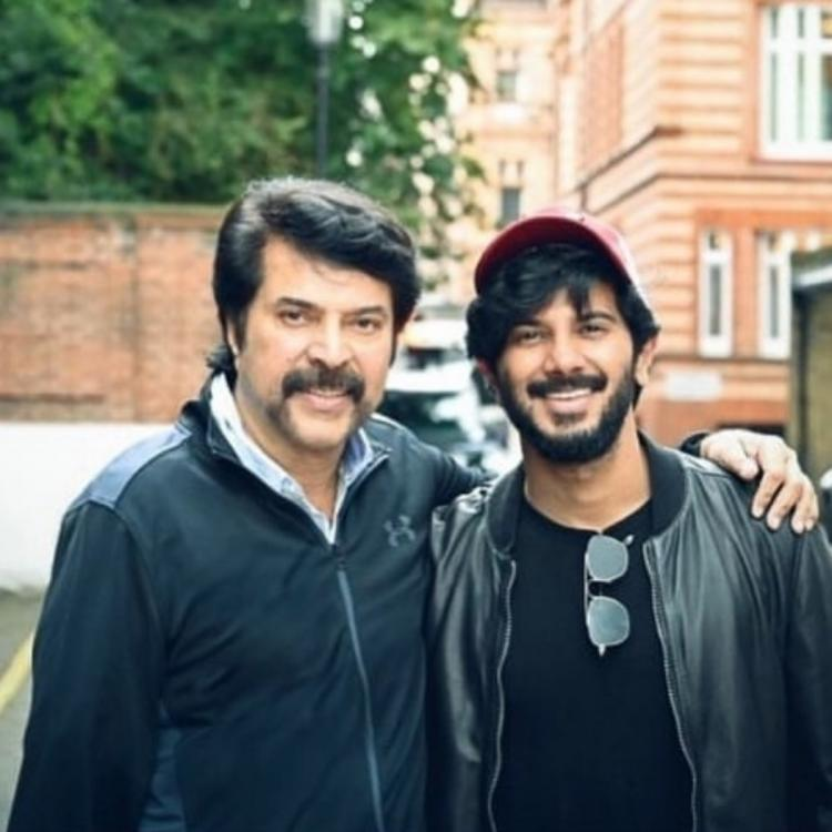 Mammootty has not stepped out the home since 150 days REVEALS Dulquer Salmaan