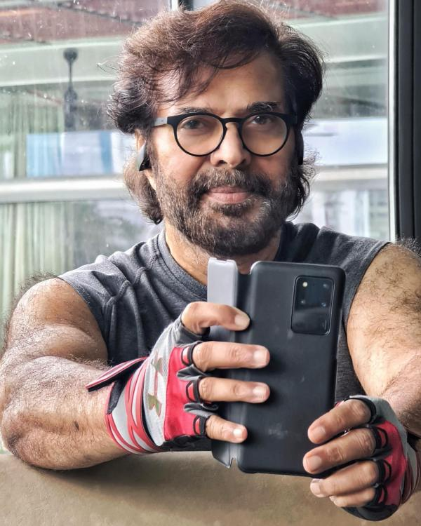 Mammootty's latest post workout selfies prove he is fit as fiddle and can even compete with Dulquer Salmaan