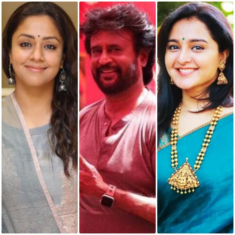 Thalaivar 168: Jyothika and Manju Warrier are the frontrunners to be the leading lady in Rajinikanth's film?