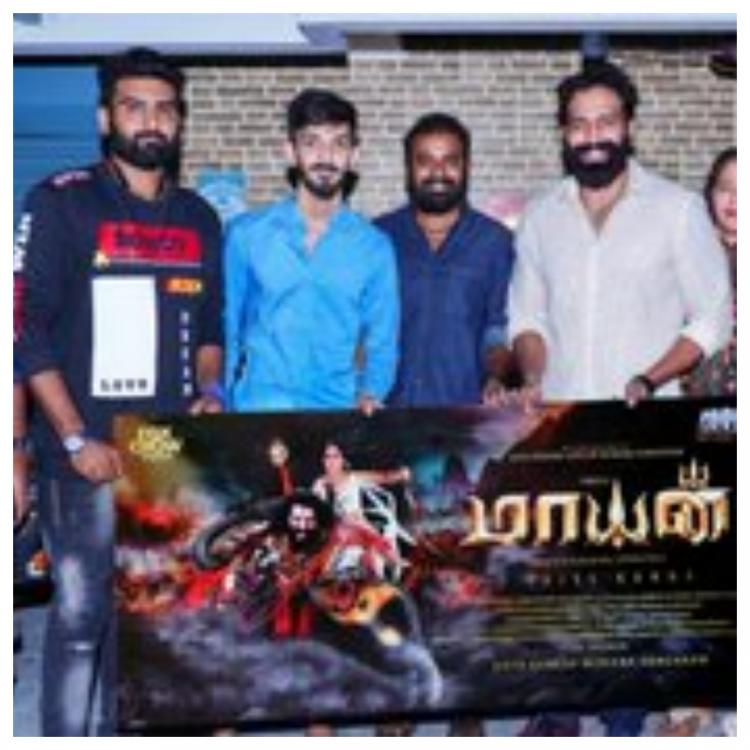 Mayan: Anirudh Ravichander launches FIRST LOOK poster of the first English and Tamil bilingual film