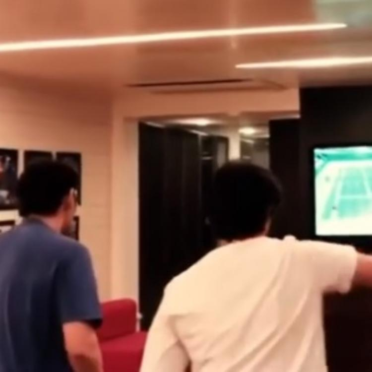 Mahesh Babu makes most of his quarantine time alongside son Gautam with a game night; Watch Video