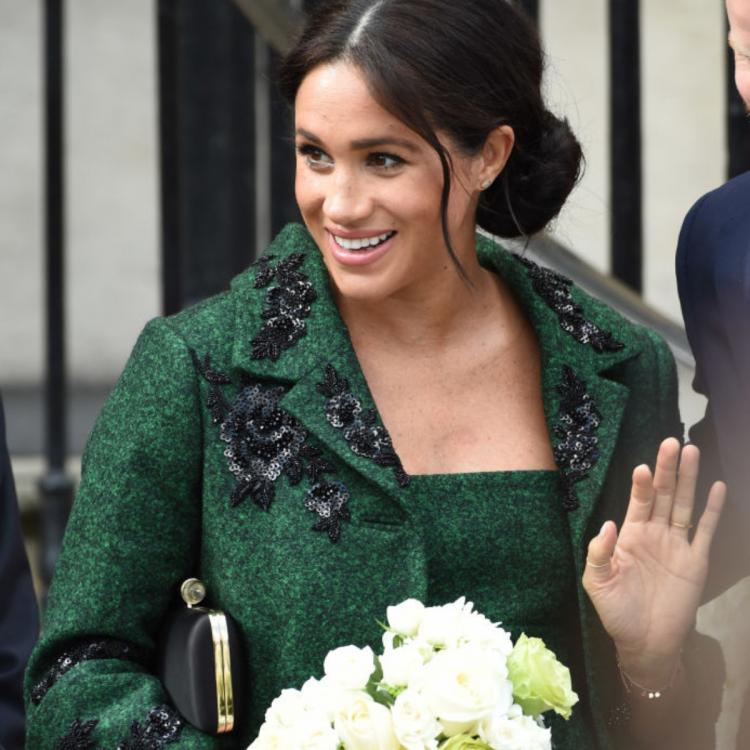 Meghan Markle could not attend Prince Philip's funeral due to her pregnancy.