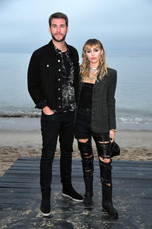 Miley Cyrus and Liam Hemsworth, who were in an on-again, off-again relationship, got married in December 2018.