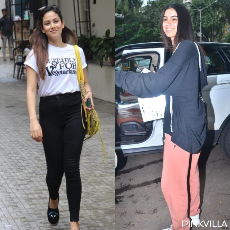 PHOTOS: Mira Rajput rocks a monochrome look as she heads out; Khushi Kapoor is all smiles post a salon session