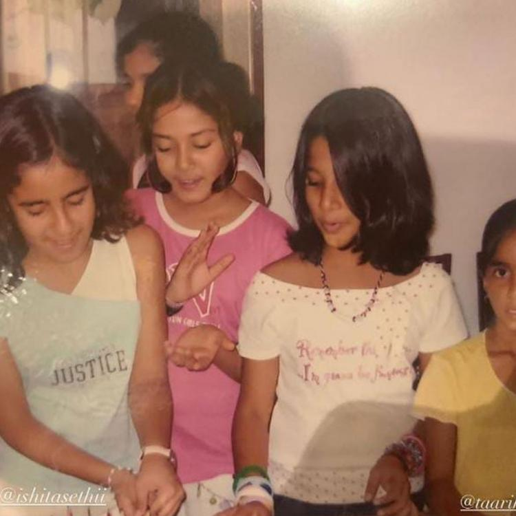 Mira Rajput shares a beautiful throwback pic from her childhood days as she sends birthday wish to her friend