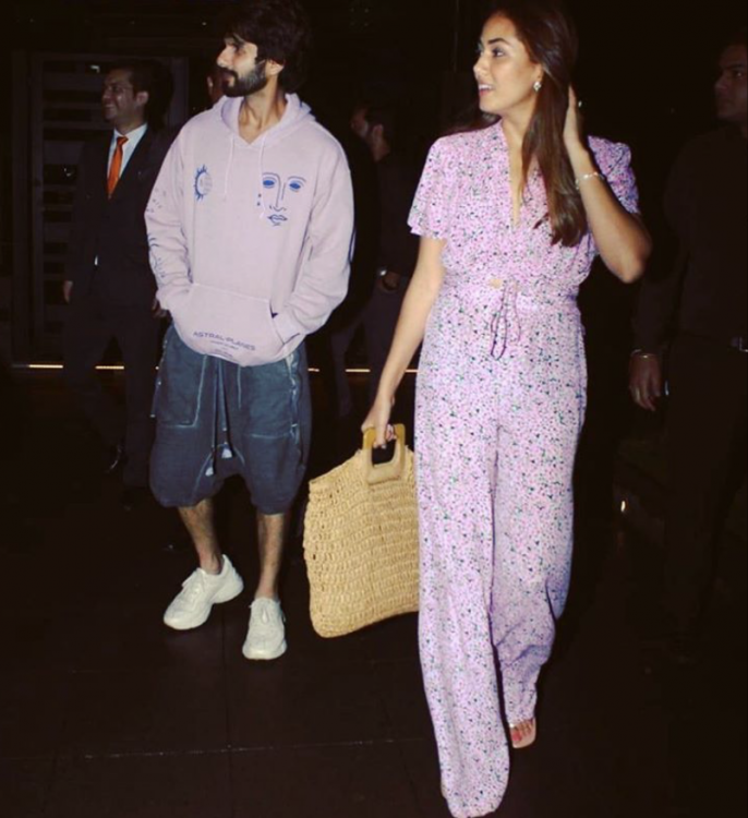 Mira Rajput digs out a date night photo with Shahid Kapoor from her album and we are lovestruck; See PHOTO