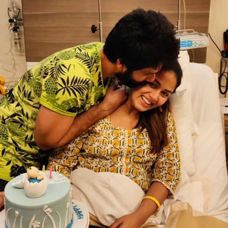 Mira Rajput gets smothered with love by a 'questionably dressed' hubby Shahid Kapoor in throwback birthday pic