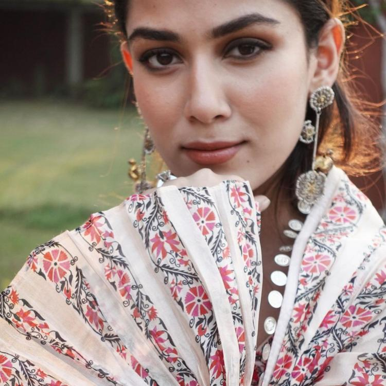 Mira Rajput plays dress up in a printed anarkali by Punit Balana; Yay or Nay?