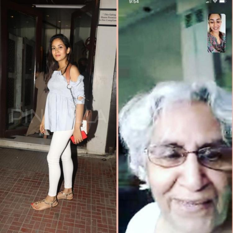 Mira Rajput shares screenshot of video call with 'Dadima'; REVEALS she was excited to chat with Misha and Zain