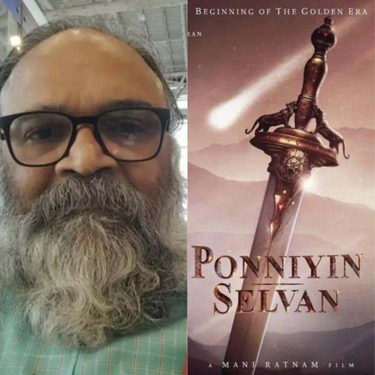 Mohan Raman clears the air after rumours surface about his role in Mani Ratnam's Ponniyin Selvan