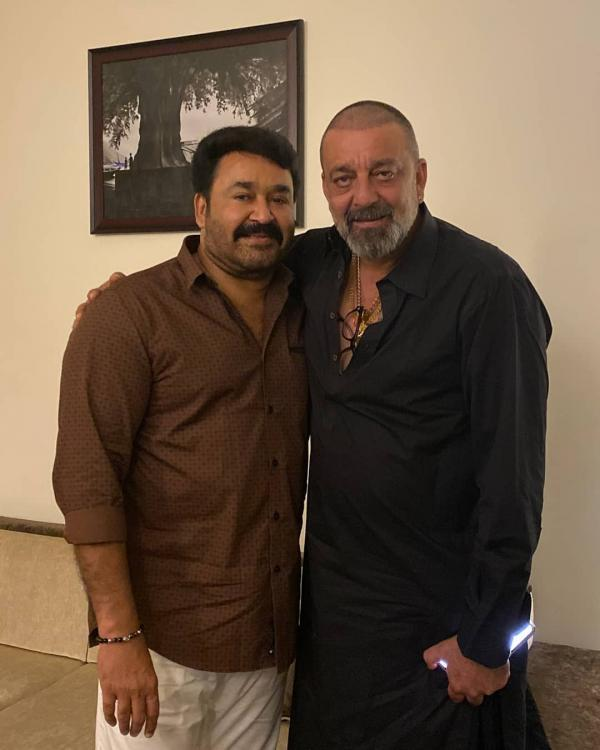 Mohanlal shares a throwback picture with Sanjay Dutt as he wishes KGF 2 star on his birthday