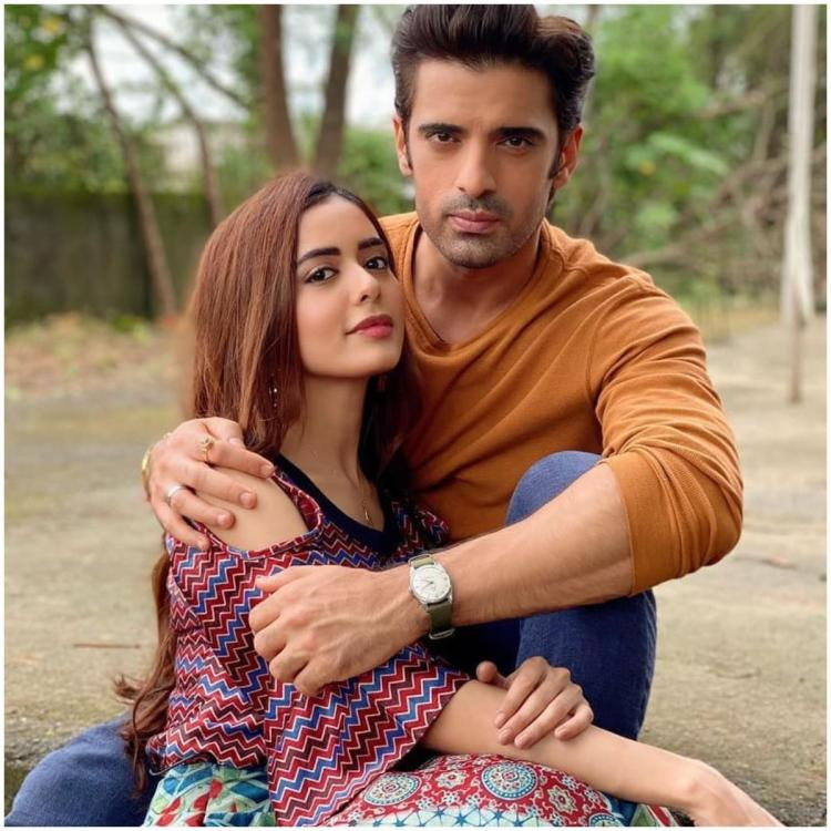 Mohit Malik and Sana Sayyad in Lockdown Ki Love Story