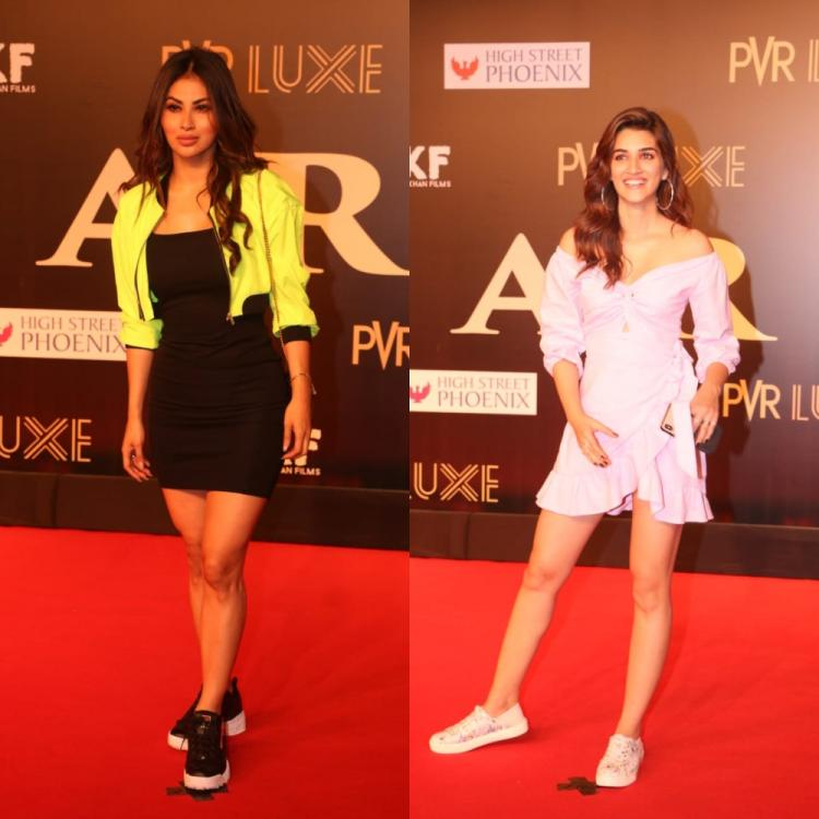 Bharat premiere: Mouni Roy, Kriti Sanon and others rock it with their glamorous looks