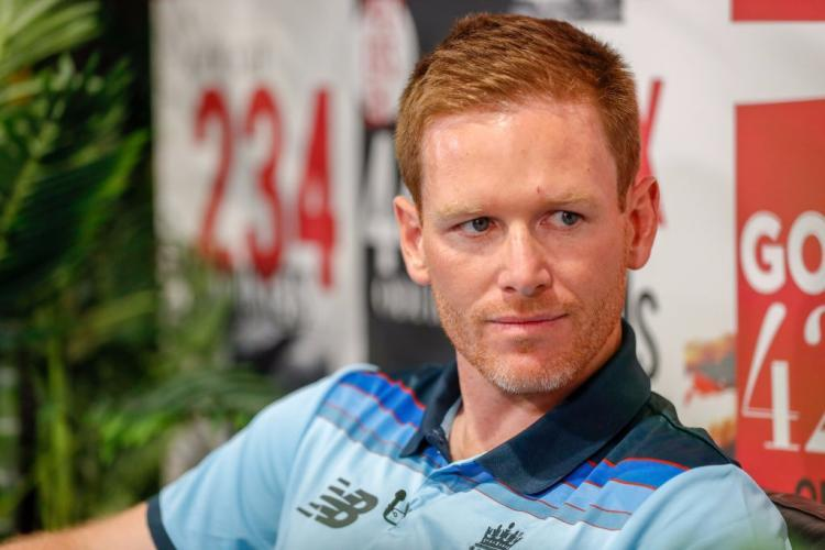 England's Eoin Morgan says 'Sunday's not a day to shy away from'
