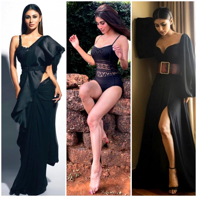 7 Times Mouni Roy stunned in black outfits and we cannot stop crushing on them