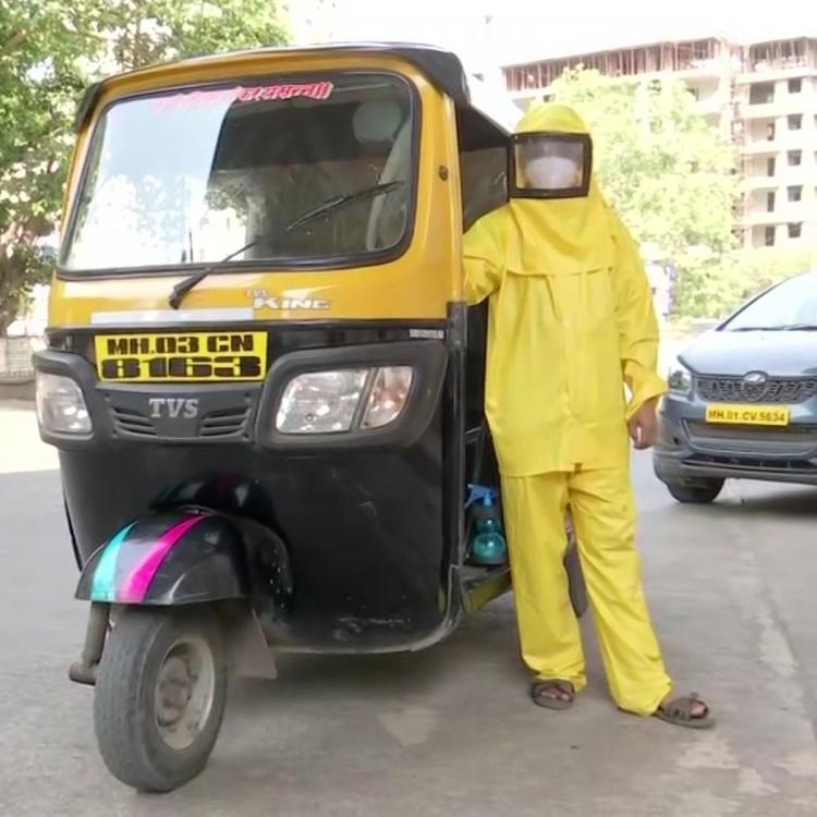 Mumbai teacher turns into auto driver to help COVID patients