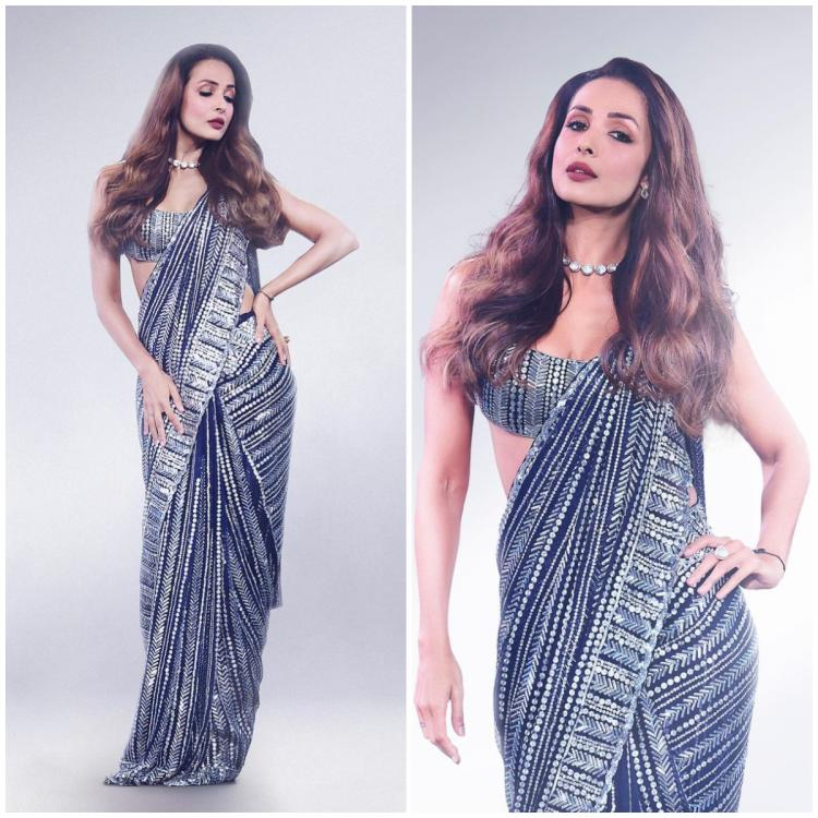 Malaika Arora in a Manish Malhotra saree is here to add sparkle to your wardrobe: Yay or Nay?
