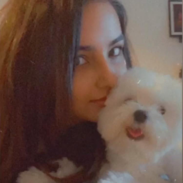 Naagin 4 actress Jasmin Bhasin wins the internet as she shares an adorable photo with her pet dog