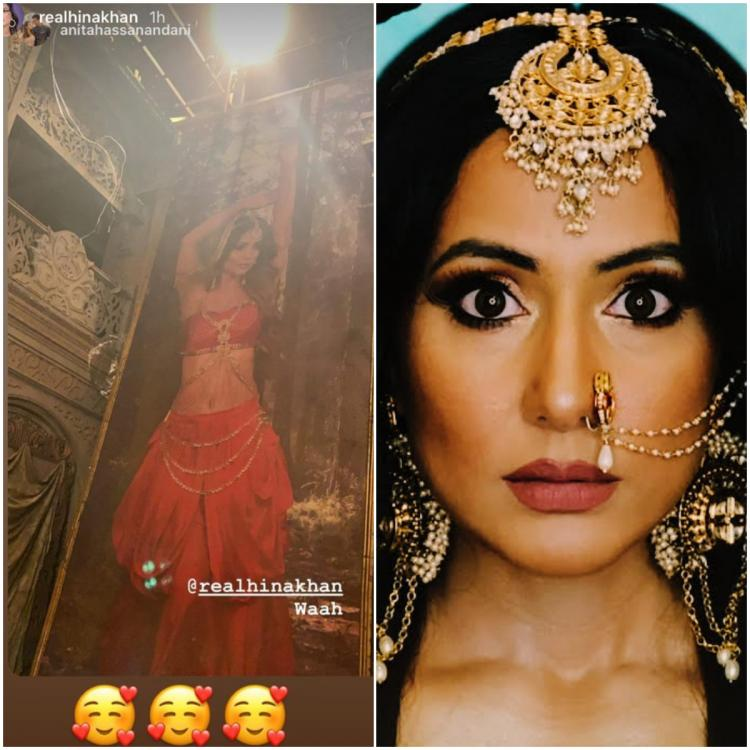 Naagin 5: Anita Hassanandani goes 'waah' after she finds a portrait of Hina Khan as powerful serpent on sets