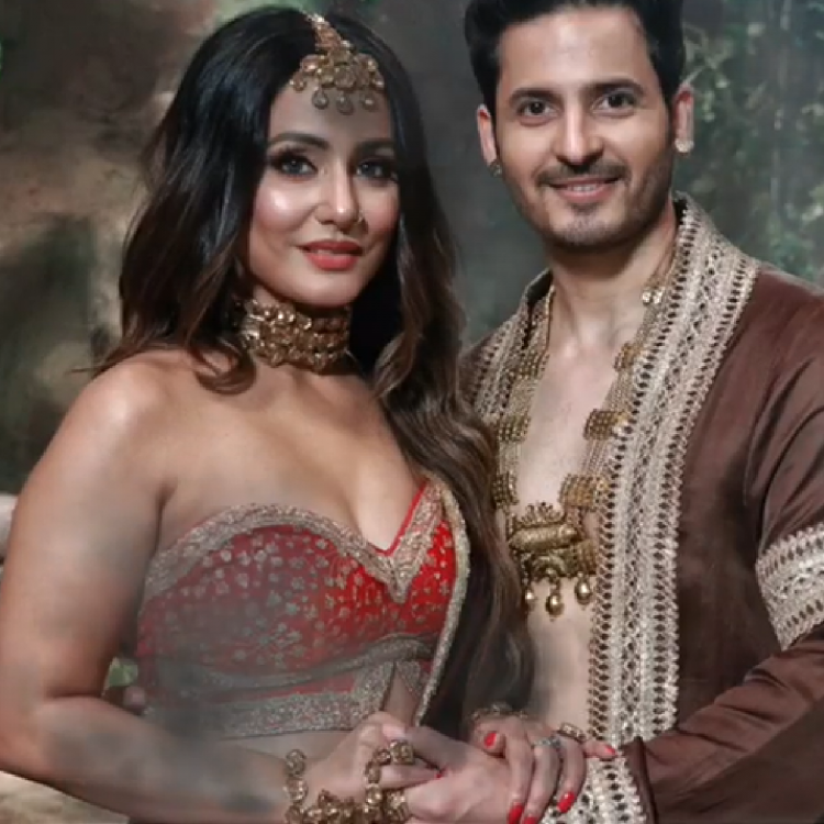 Naagin 5: Hina Khan and Mohit Malhotra's look is beyond majestic as the shape shifting serpents; Take a look