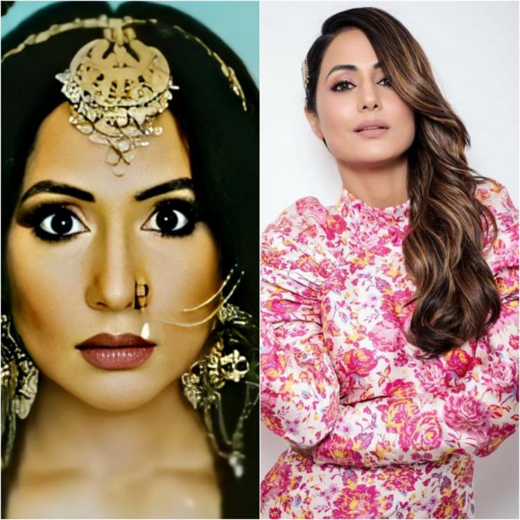 Naagin 5: Hina Khan's FIRST look as shape shifting serpent leaves fans gawking; Call her the prettiest naagin