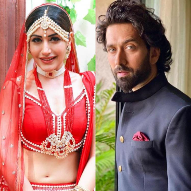 Nakuul Mehta's comment on Surbhi Chandna's bridal look
