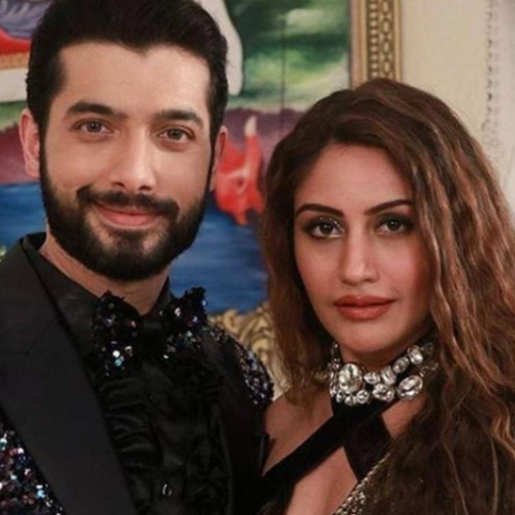 Surbhi Chandna and Sharad Malhotra's BTS romantic moment from upcoming track of Naagin 5