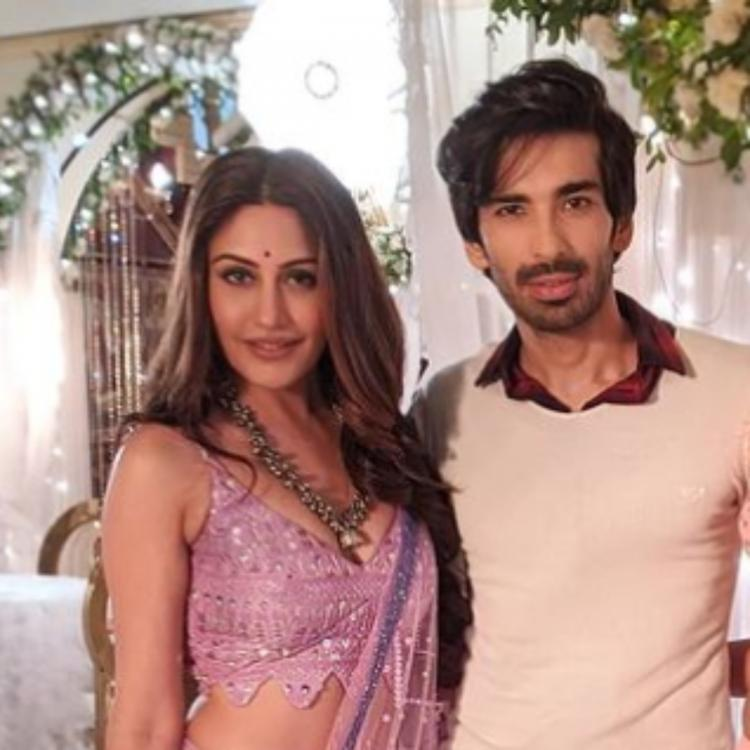 Naagin 5: Surbhi Chandna teases Mohit Sehgal with a fake accent while leaving him in splits; WATCH BTS Video