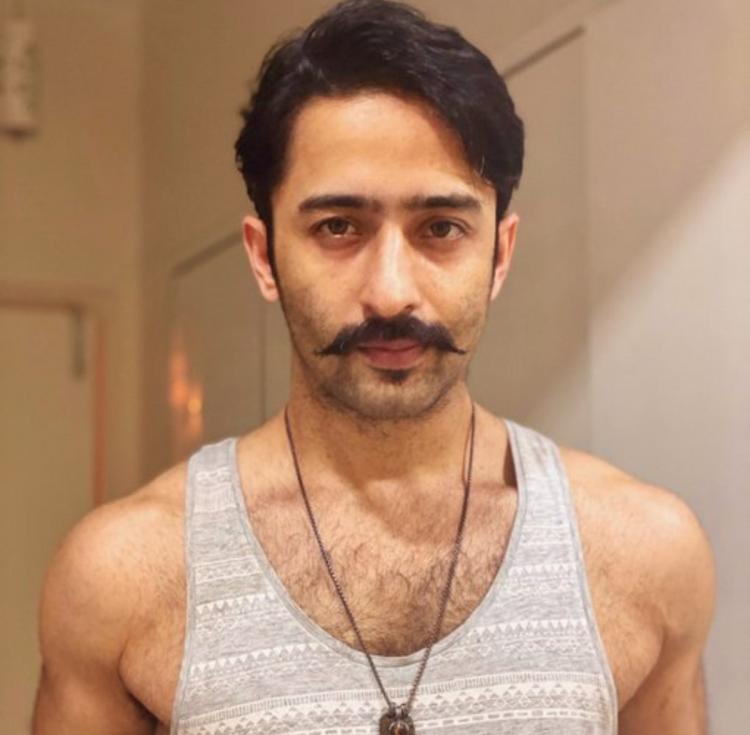 Nakuul Mehta seems to approve of not just Shaheer Sheikh's new moustache look but his caption too