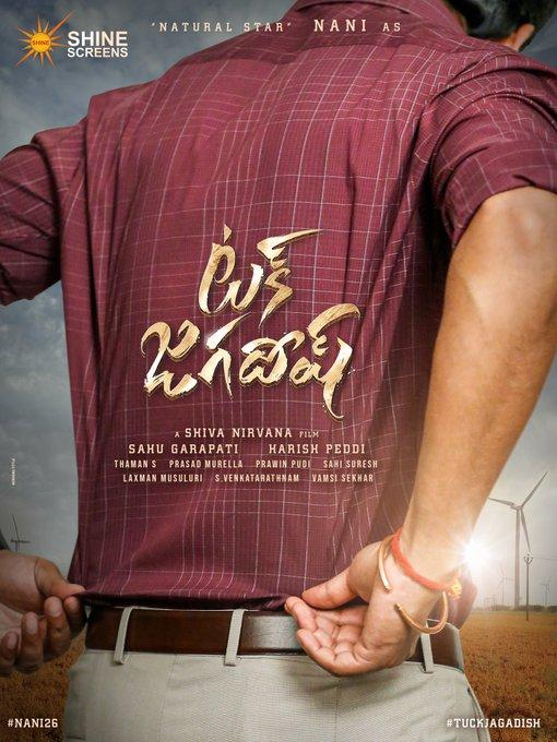 Nani's next titled Tuck Jagadish; Check out the first look