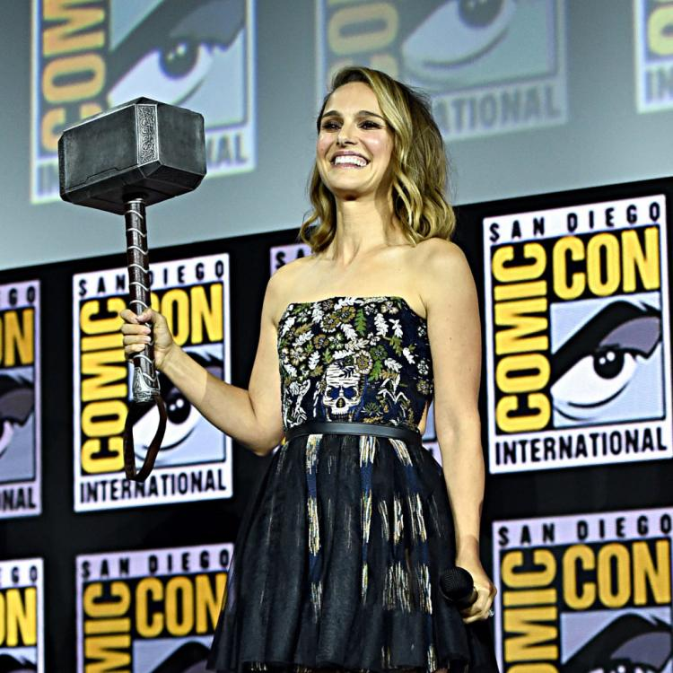 Natalie Portman will be seen as The Mighty Thor in Thor: Love and Thunder.