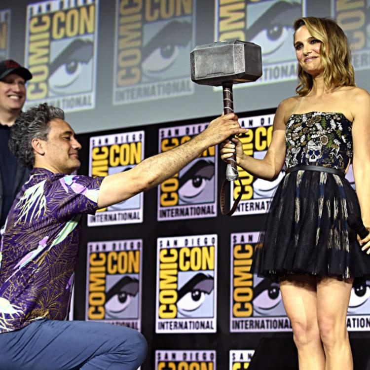 Natalie Portman teases her superpowers in Thor: Love and Thunder