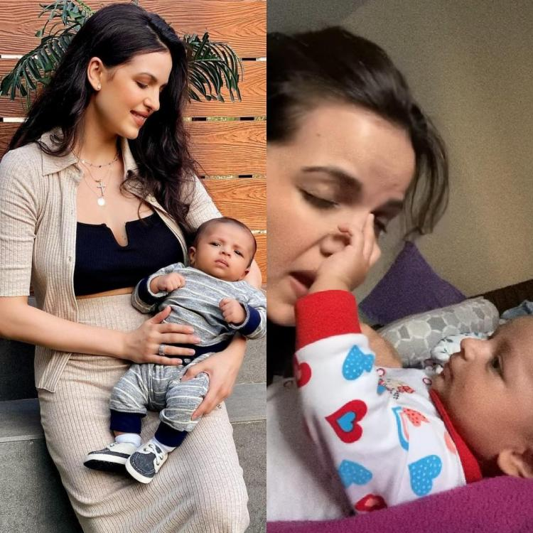 Natasa Stankovic drops an adorable video of playing with her son Agastya