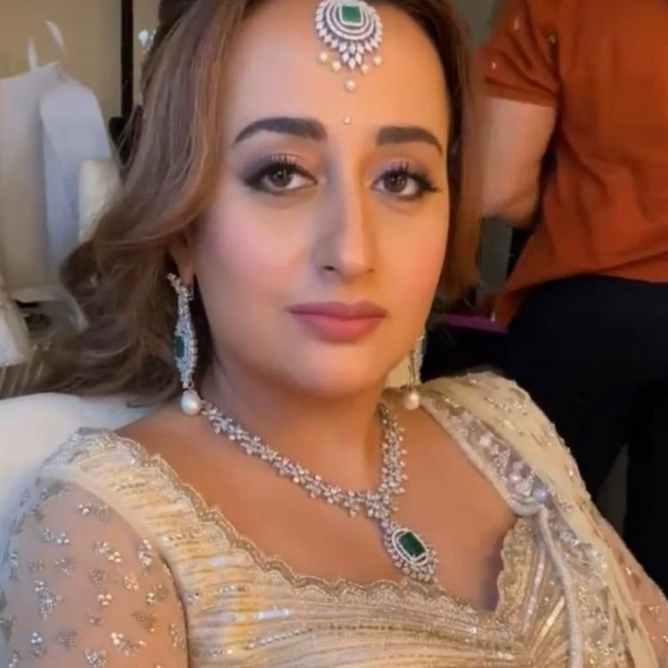 Natasha Dalal looks gorgeous inside out in her stunning bridal look; Watch VIDEO