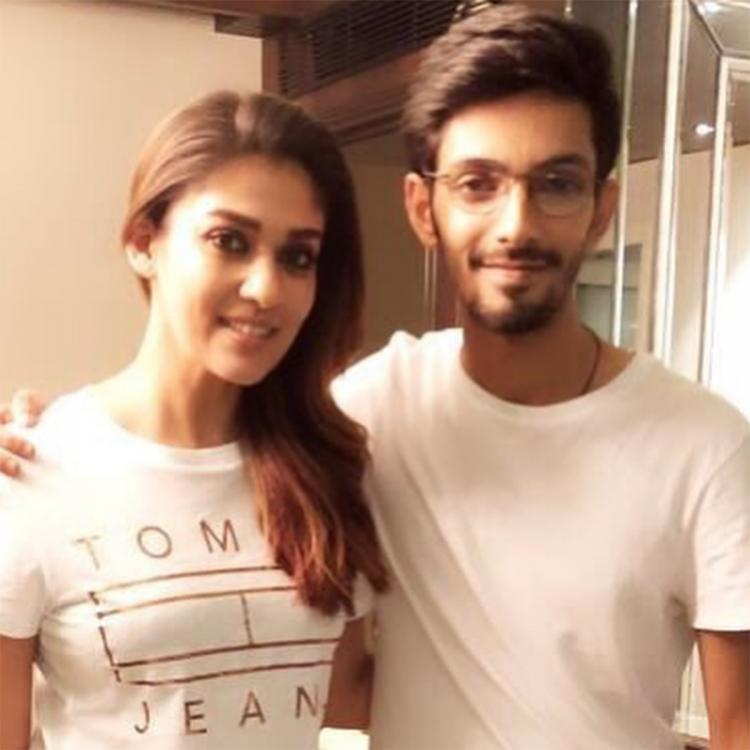 Nayanthara and Anirudh Ravichander look cool as they twin in white in this THROWBACK photo