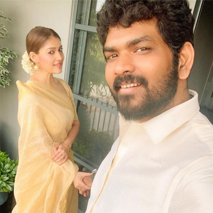 Nayanthara can't let go of Vignesh Shivan as she holds his hand in this latest PHOTO