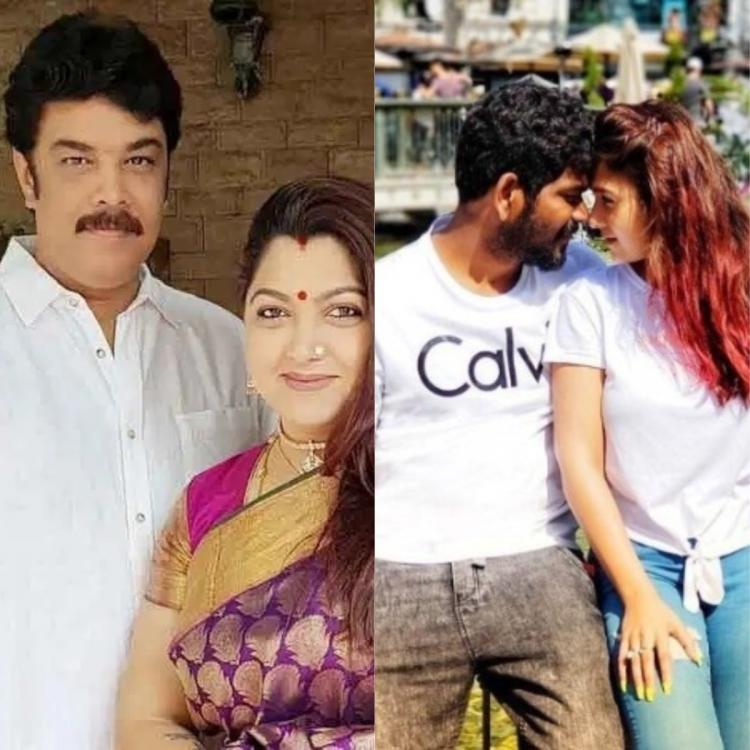 Nayanthara to Khushbu Sundar Top Kollywood heroines who fell in love with their directors`