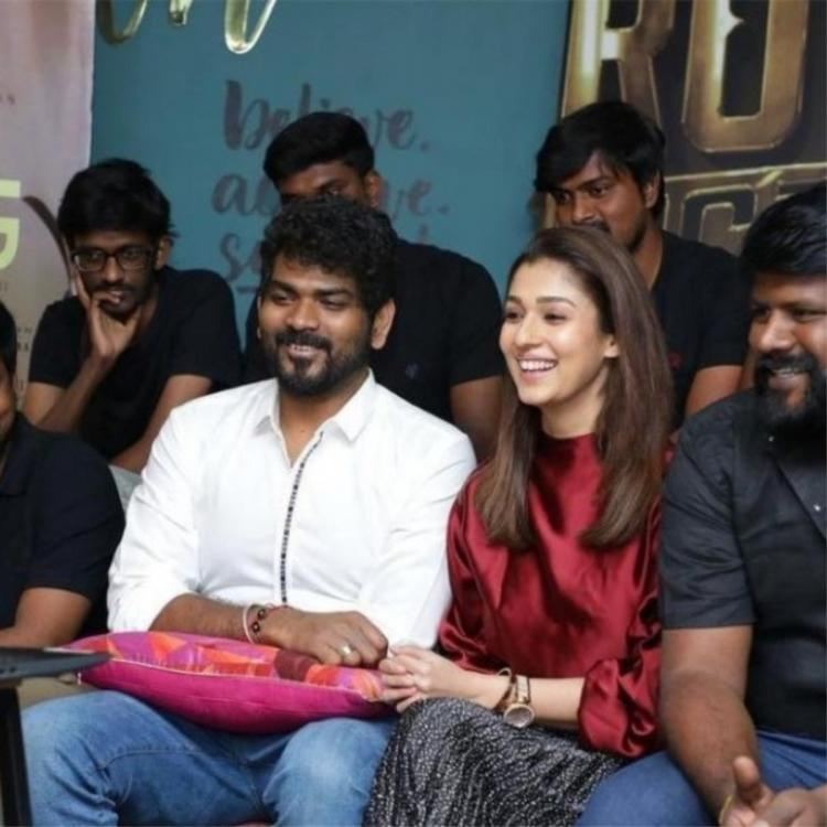 Nayanthara, Vignesh Shivan are all smiles as they join the cast & crew of Koozhangal to celebrate its big win