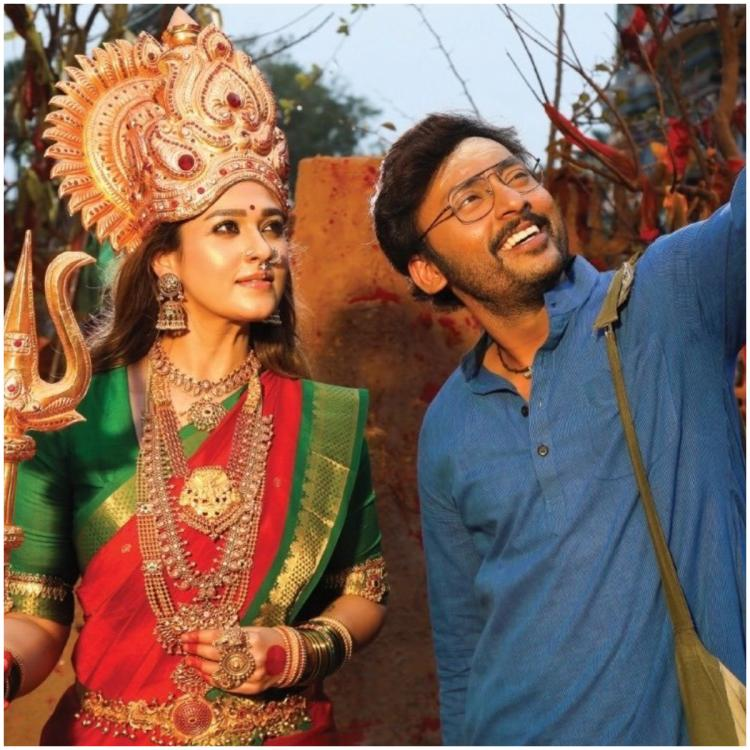 Nayanthara's Mookuthi Amman: Unseen photos from the sets of the RJ Balaji directorial go VIRAL
