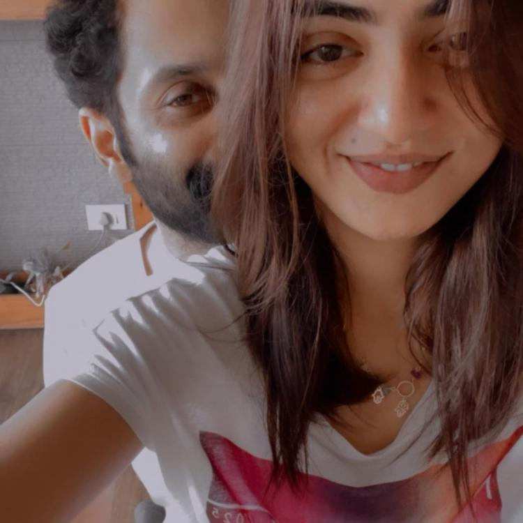 Nazriya Nazim and Fahadh Faasil are lovestruck in the latest selfies shared by the former; See PHOTOS