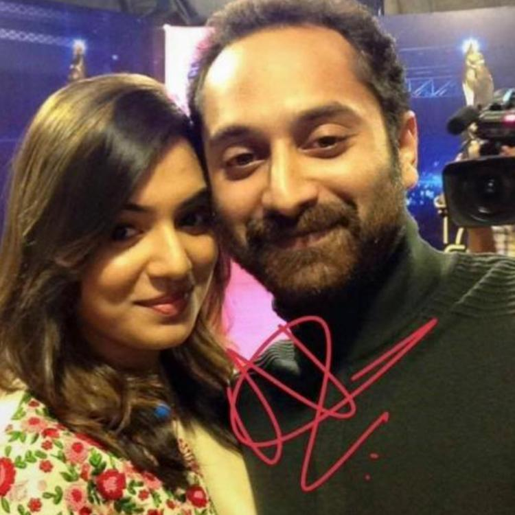 Nazriya Nazim shares a funny yet adorable post about Fahadh Faasil; Take a look