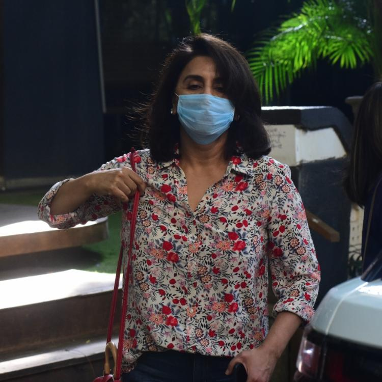 Neetu Kapoor diagnosed with COVID 19 in Chandigarh; Actress flies back to Mumbai in air ambulance