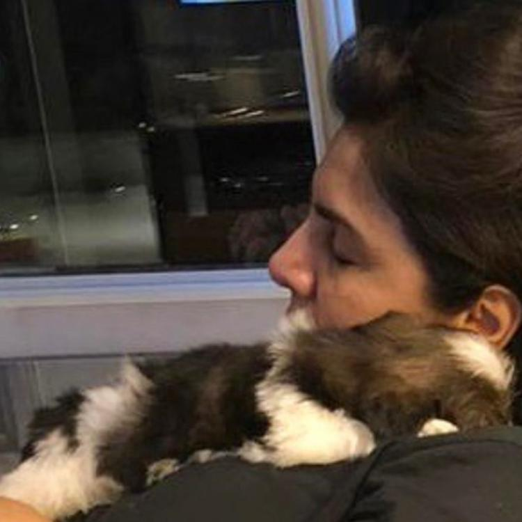 Neetu Kapoor is grateful to daughter Riddhima Kapoor Sahni for gifting her a button like pup; See PHOTO