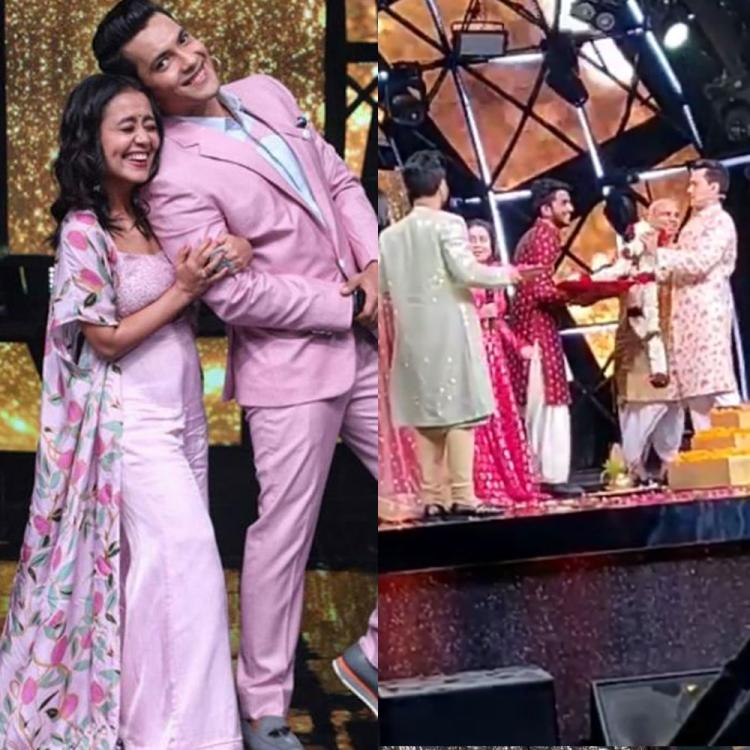 Video: Neha Kakkar and Aditya Narayan to walk down the aisle on the sets on Indian Idol 11?