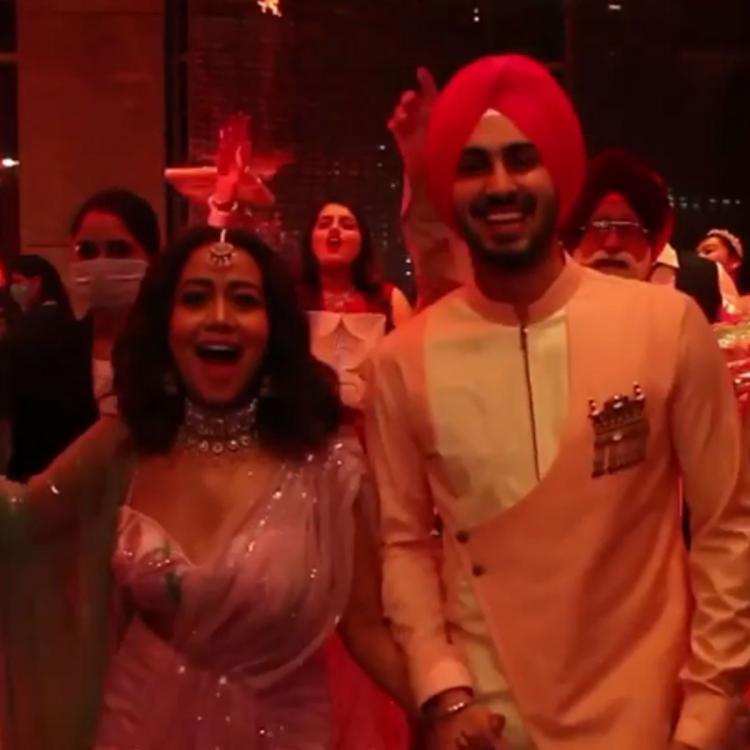 Neha Kakkar shares video of her roka ceremony with Rohanpreet Singh; Leaves fans excited for their wedding
