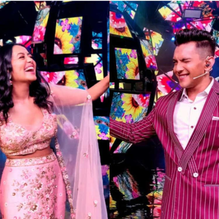 Neha Kakkar And Aditya Narayan Tease Fans With Mushy Pictures Amidst Marriage Rumours Check It Out Pinkvilla