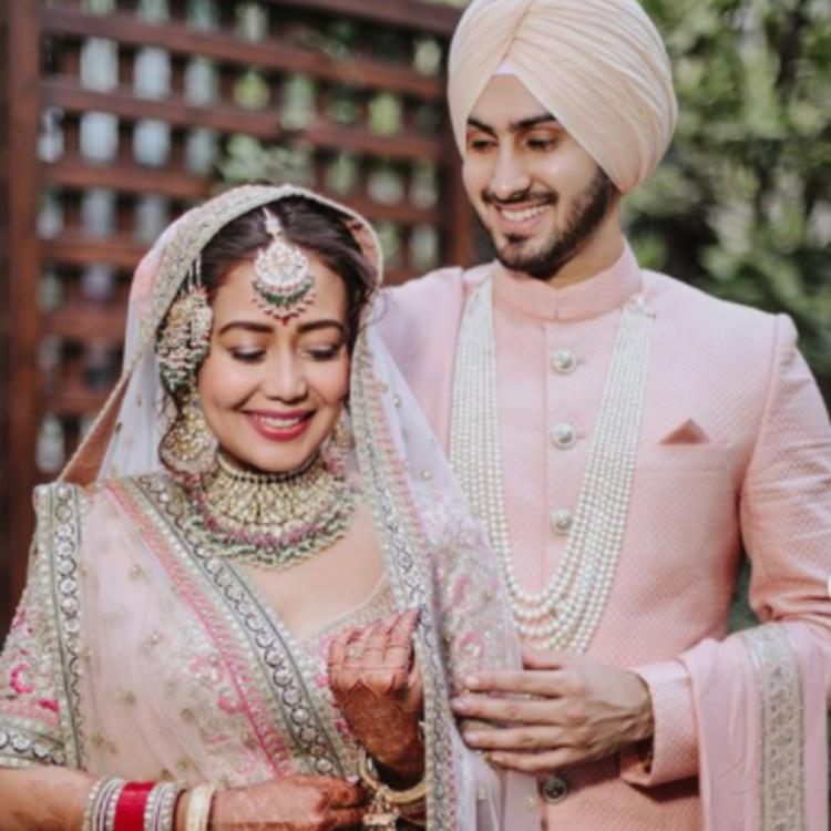 Neha Kakkar and Rohanpreet Singh reveal they were gifted their wedding outfits